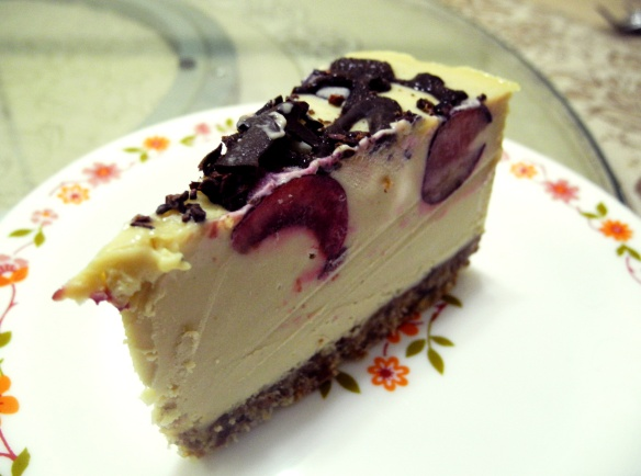 raw blackforest cake