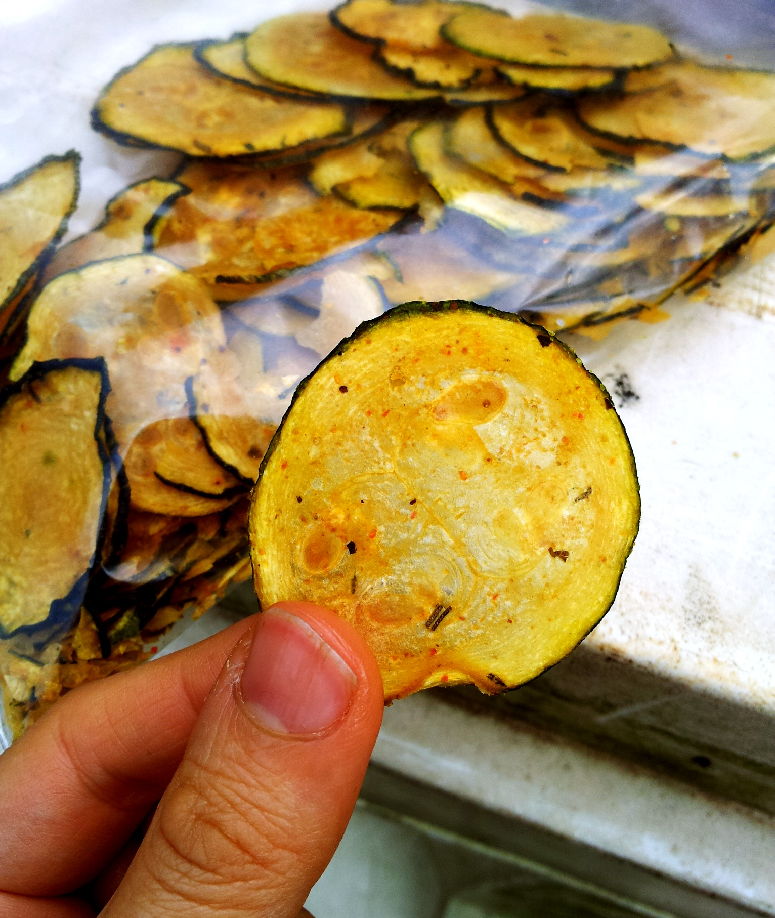 ... these amazing raw zucchini chips and knew I had to share the recipe