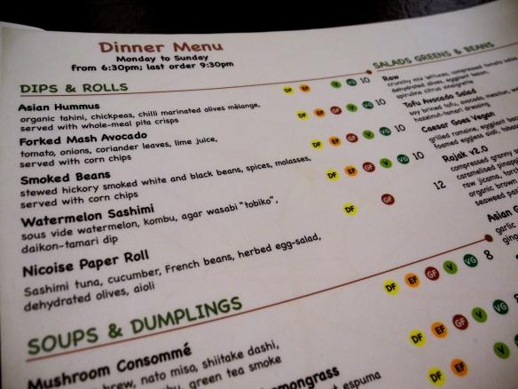 onaka menu